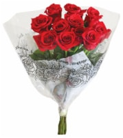 Passion Assorted Roses Bunch - 12-stems