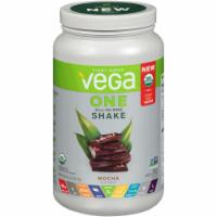 Vega One Organic Mocha Flavored All-in-One Shake Drink Mix