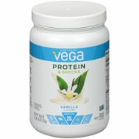 Vega Protein & Greens Plant-Based Vanilla Flavored Drink Mix Powder