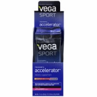 Vega Sport Plant-Based Recovery Accelerator Apple Berry Powder Packs 12 Count