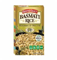 Heritage Select Rosemary & Olive Oil Basmati Rice - 6.5 oz