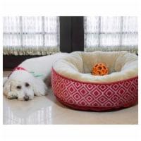 Kilim Donut Pet Bed by Pet Maison for Unisex - 27 x 8 Inch Pet Bed