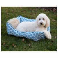 Quartre Foil Cuddler Pet Bed by Pet Maison for Unisex - 27 x 21 x 10 Inch Pet Bed