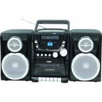 Naxa NPB426 Portable CD Player with AM/FM Stereo Radio Cassette Player/Recorder - 1