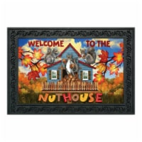 Briarwood Lane BLD01343 Fall Doormat Welcome Nuthouse Doormat - 1