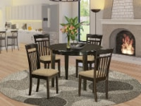 BOCA5-CAP-C 5 Pc small table & Chairs set-round table & 4 Chairs - 1