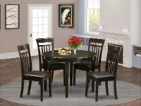 BOCA5-CAP-LC 5 PC Kitchen nook Dining set-Kitchen Table and 4 Kitchen Chairs - 1