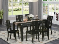 7 Pc Dining room set for 6 -Dining Table and 6 Chairs for Dining Chairs - 1