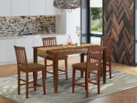 5 Pc Counter height Table set- counter height Table & 4 counter height Chairs - 1