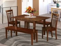 5 Pc dinette set for small spaces-Tables & 2 Chairs for Dining & 2 Benches - 1