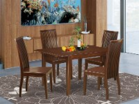 MLIP5-MAH-W 5 Piece nook dining set-table and 4 dining chairs - 1