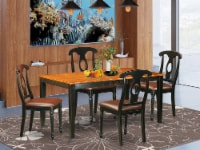 NIKE5-BCH-LC 5 PC Dining room set-Dining Table and 4 Wood Dining Chairs - 1
