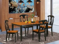 NIKE5-BCH-W 5 PC Table set-Dining Table and 4 Dining Chairs - 1
