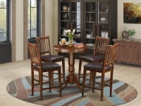5 Pc counter height Dining set-counter height Table & 4 Kitchen bar stool. - 1