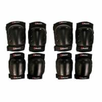 Razor Deluxe Child Multi-Sport Elbow & Knee Pad Safety Pro Set - Black (2 Pack) - 1 Unit