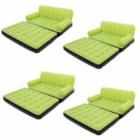 Bestway Multi-Max Air Couch With Sidewinder AC Air Pump - Green | 10026 (4 Pack) - 1 Unit