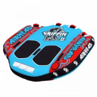 Airhead Griffin 2 Person Inflatable Winged Water Boating Towable Tube (2 Pack) - 1 Unit
