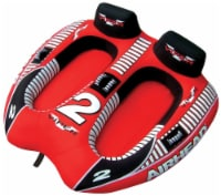 AIRHEAD Viper 2 Double Rider Cockpit Inflatable Towable Lake Water Tube (2 Pack)