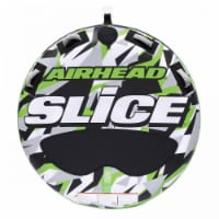 Airhead Slice Inflatable Double Rider Towable Lake Tube Water Raft (2 Pack) - 1 Unit