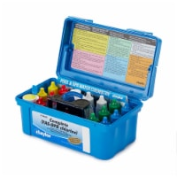 Taylor K2006 Complete Swimming Pool Water Test Kit for Chlorine, pH, Alkalinity - 1 Unit