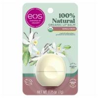 EOS Organic Vanilla Lip Balm - 0.25 oz