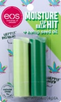 EOS Moisture Hit Hemp Seed Oil Lip Balm Sticks