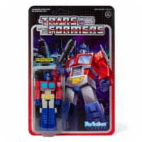 Transformers Optimus Prime Reaction Figure Articulated Collectible Super7 - 1 unit