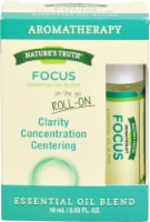 Nature's Truth  Roll On Essential Oil Blend Focus