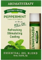 Nature's Truth  Peppermint Essential Oil Blend Roll-On - 0.33 fl oz