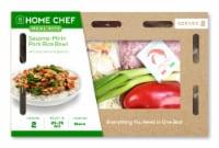 Home Chef Meal Kit Sesame-Mirin Pork Rice Bowl