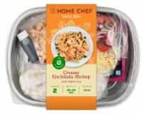 Home Chef Oven Kit Creamy Enchilada Shrimp With Fajita Rice
