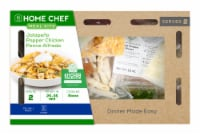 Home Chef Value Meal Kit Jalapeño Popper Chicken Penne Alfredo