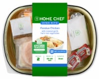 Home Chef Oven Kit Fondue Chicken With Roasted Garlic Herb Root Vegetables