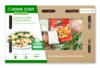 Home Chef Meal Kit Creamy Truffle Chicken Skillet With Mushrooms And Green Beans