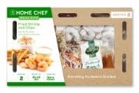 Home Chef Meal Kit Fried Shrimp And Chips With Tartar Sauce And Jalapeno Ranch Slaw
