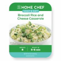 Home Chef Heat & Eat Broccoli Rice and Cheese Casserole