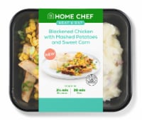 Home Chef Heat and Eat Blackened Chicken with Mashed Potatoes and Sweet Corn - 13 oz