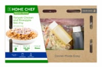 Home Chef Value Meal Kit Teriyaki Chicken And Pineapple Stir-Fry With Spicy Slaw