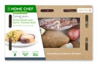 Home Chef Culinary Collection Sirloin Steak And Garlic-Tomato Aioli
