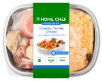 Home Chef Oven Kit Cheddar Tortilla Chicken with Pepper and Potato Hash