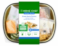 Home Chef Oven Kit Greek Herb Chicken And Sun-Dried Tomato Pesto Zucchini