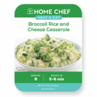 Home Chef Broccoli Rice and Cheese Casserole