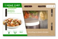 Home Chef Meal Kit Spaghetti Bolognese With Shaved Parmesan And Parsley