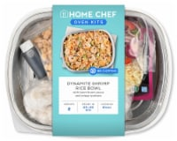 Home Chef Oven Kit Dynamite Shrimp Rice Bowl With Boom Boom Sauce And Crispy Wontons