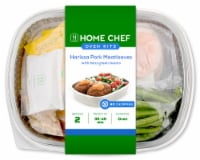 Home Chef Oven Kit Harissa Pork Meatloaves With Feta Green Beans