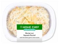 Home Chef Heat & Eat Butternut Squash Ravioli With Parmesan Garlic Cream Sauce