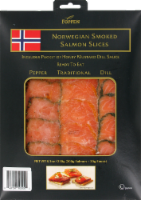Foppen Norwegian Smoked Salmon Slices