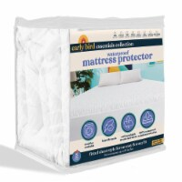 Early Bird Essentials Waterproof Breathable Fitted Mattress Protector Pad, Full - 1 Piece