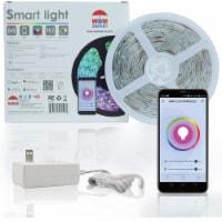 WBM Smart LED Strip Light, Indoor & Outdoor 32.8 ft. RGB Strip with IR Remote | 2 Rolls