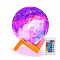 Himalayan Glow Galaxy Lamp, 16 Colors, Night Light, Remote & Touch Control, USB Rechargeable